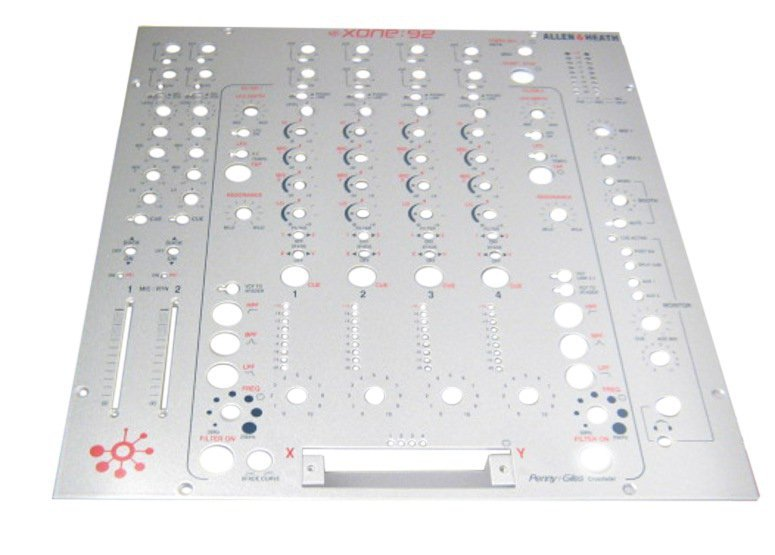 Allen & Heath/Xone Mixer Faceplate