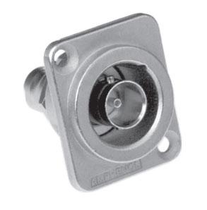 Bulkhead Adapter, Iso, D Shell