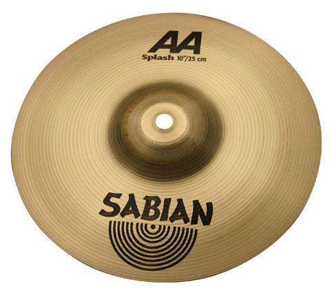 "10"" AA Splash Cymbal in Natural Finish"