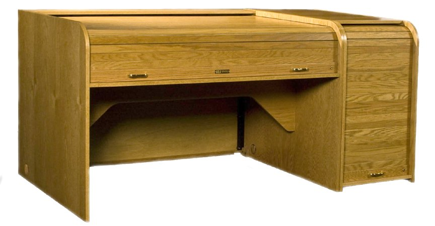 HSA Rolltops INSEXT-II  Inspire Series Extended Rolltop Desk INSEXT-II