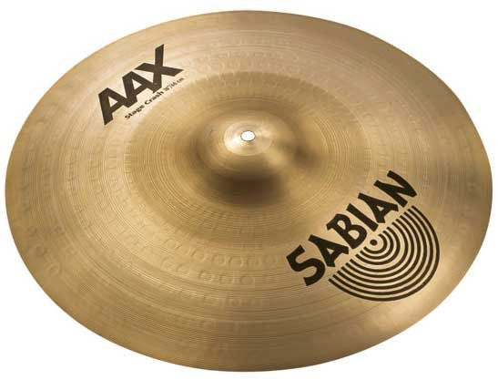 """18"""" AAX Stage Crash Cymbal in Natural Finish"""