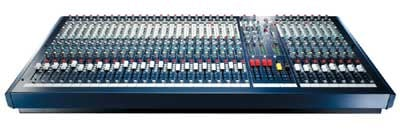 24 Channel 7-Bus Mixer (32 Channel version shown)