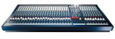 16 Channel 7-Bus Mixer (32 Channel version shown)