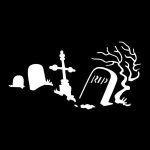 Steel Gobo, Halloween Graveyrd