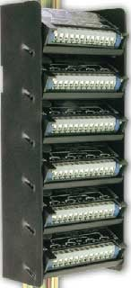 6 Stick-On DIN Rail Adapter Modules