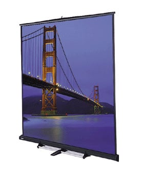 "69"" x 92"" Floor Model C® Matte White Screen"