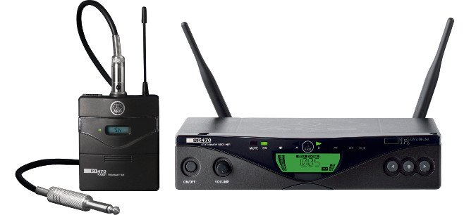 AKG WMS470-INSTRUMENTAL UHF Wireless System for Instruements with Bodypack and Cable WMS470-INSTRUMENTAL