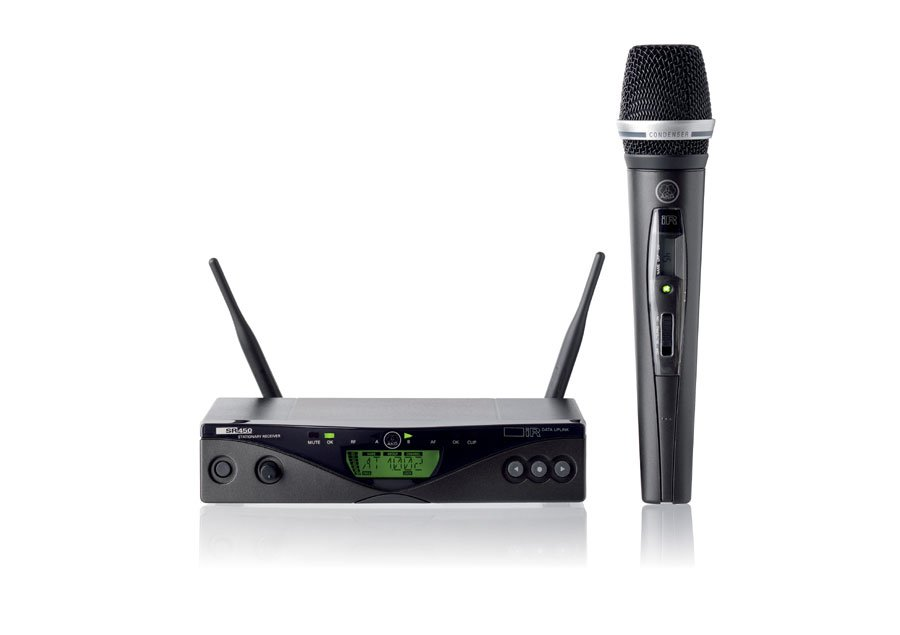 UHF Wireless System with Handheld C5 Transmitter