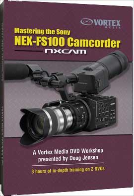 DVD Master Sony NEX-FS100