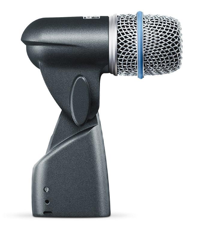 Supercadioid Dynamic Drum Microphone