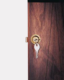 """Lower Locking Door for 25"""" Lecturn Locking Door Models"""
