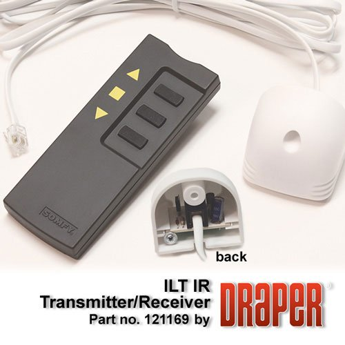 Draper Shade and Screen 121169  ILT IR Trasmitter/Receiver, White 121169