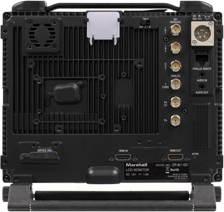 "9"" Rack-Mount HD-SDI/HDMI 3D-Ready Monitor"