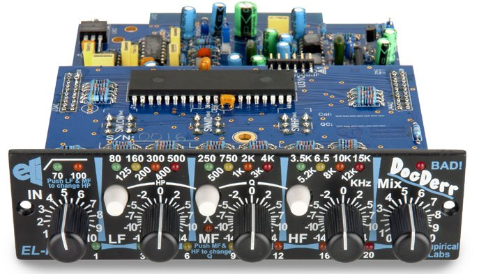 500 Series Instrument Preamp with Horizontal Faceplate