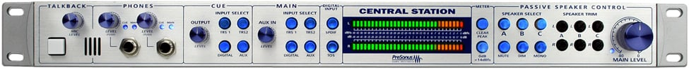 Central Station Studio Control Center with CSR-1 Control Station Remote