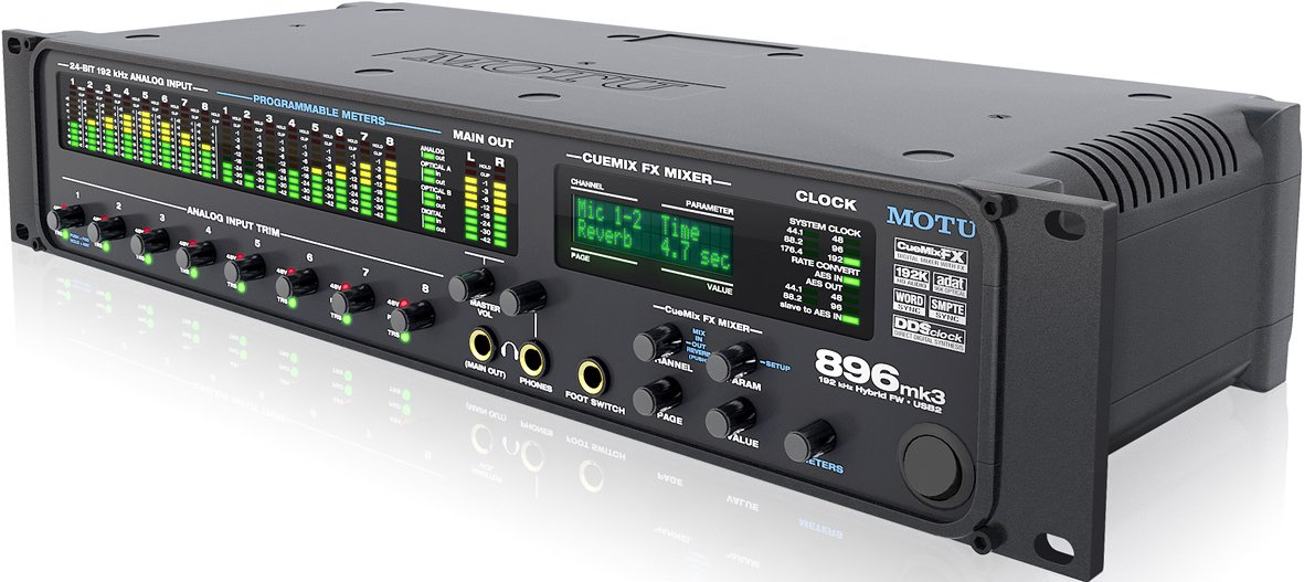 motu 896mk3 hybrid firewire usb 2 0 audio interface with 8 mic pres effects mixing full compass. Black Bedroom Furniture Sets. Home Design Ideas