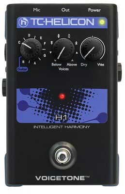 Pedal, Intelligent Vocal Harmony