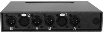 A/B DMX Switch Box, Two Channel