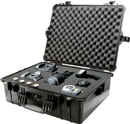 Pelican Cases 1604 Large Desert Tan 1600 Case with Padded Dividers PC1604-DESERT-TAN