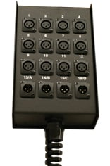 Stage Box 6x3 PrePunched D Ser