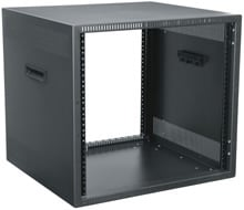 "12 RU , 21"" H Desktop Rack"