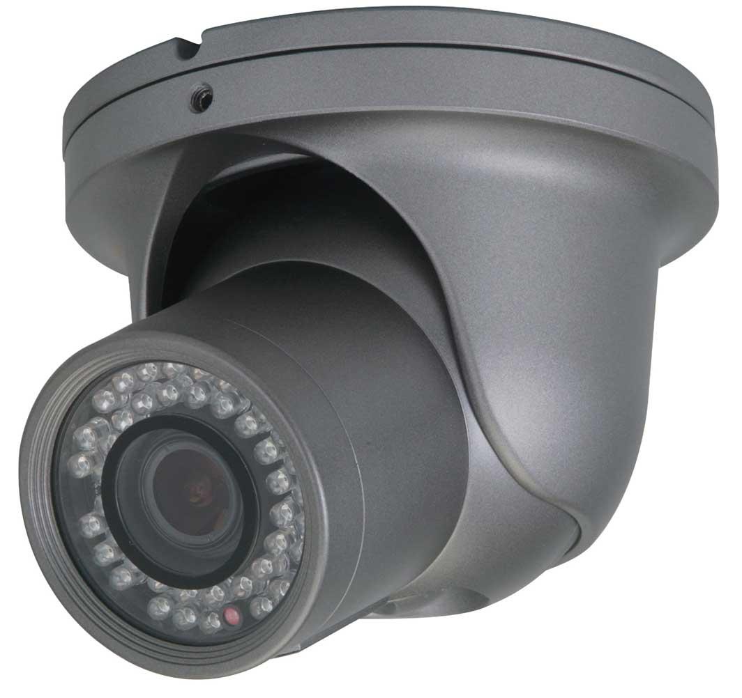 Dome Camera IR Vandal-Resistant Turret