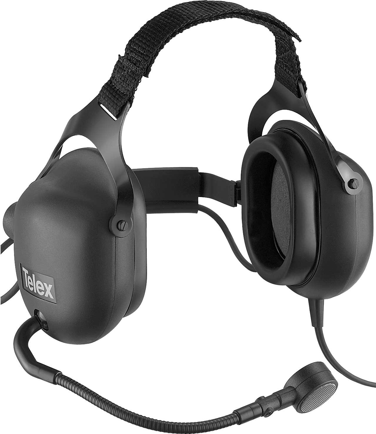 2-Muff Headset Microphone with A4F Connector