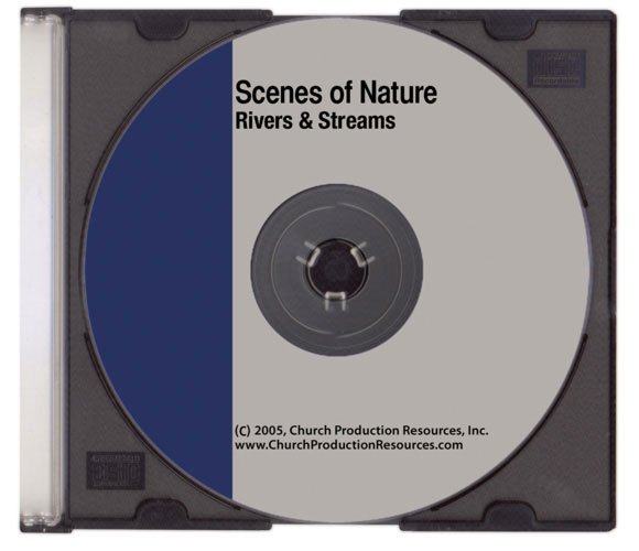 Scenes of Nature Worship Software - Rivers/Streams Loopable Video Clips