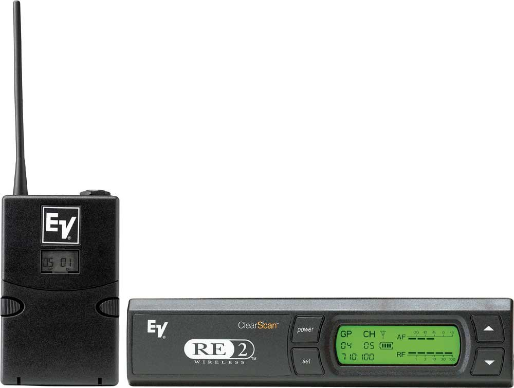 Electro-Voice RE2-G-C Guitar Wireless System with BPU2, RE2, Cable and Case RE2-G-C