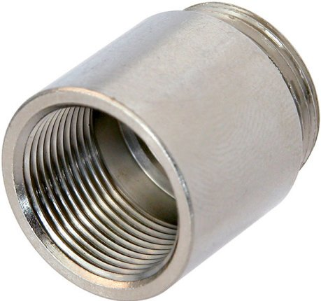 """Thread Adapter - 3/8"""" Inside, 5/8"""" 27 UNS Outside"""