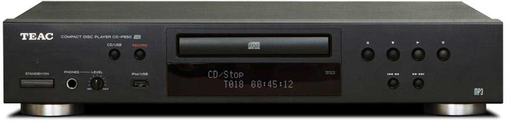 CD Player with USB/iPod Interface and Remote