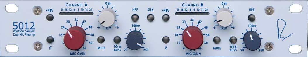 Portico 5012 Horizontal Duo Mic Pre-Amp