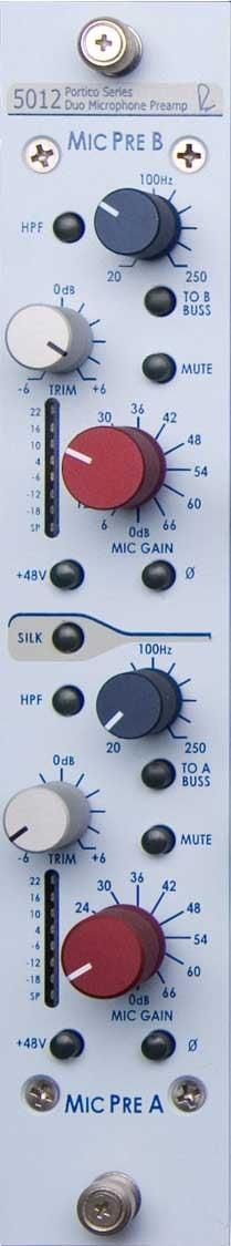 Portico 5012 Vertical Duo Mic Pre-Amp