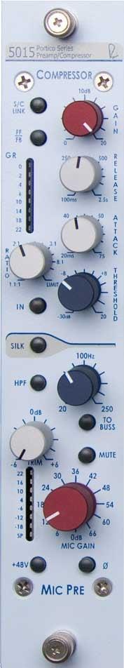 Single-Channel Vertical Mic Pre/Compressor