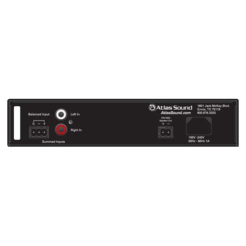 40W into 70V/100V Single-Channel Amplifier