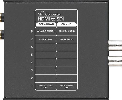 Blackmagic Design CONVMBHS2 HDMI to SDI Mini Converter CONVMBHS2