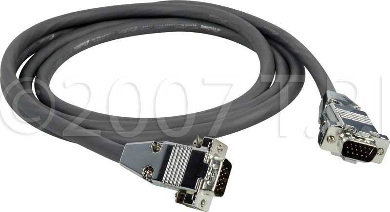 Cable, 15Pin VGA M-M, 175ft
