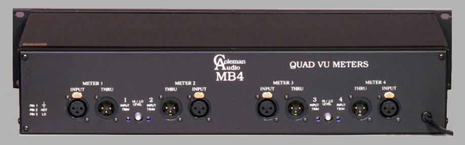 Meter Module Quad VU