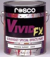 Rosco Laboratories 06254 1 Quart of Scarlet Red VividFX Paint 06254-0032