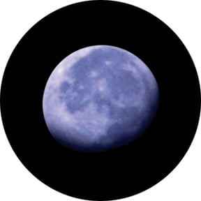Rising Moon Color Scene Glass Gobo