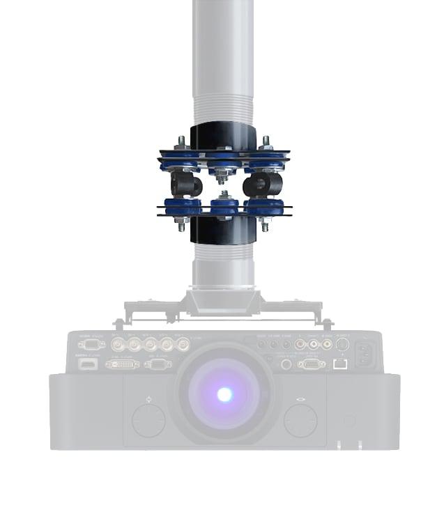 Nigel B Design NB-UIM-60 MK2 Isolation Mount for 53-72 lbs Loads NB-UIM-60