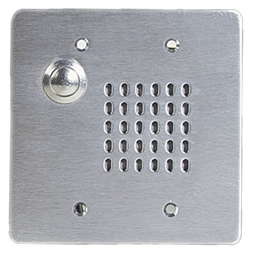 Vandal Proof Intercom Stations With Cone Loudspeaker, Call Switch and 25V Transformer