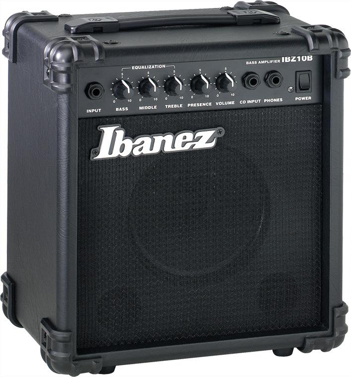 """Ibanez IBZ10B 10W 1x6.5"""" Bass Combo Amplifier IBZ10B"""