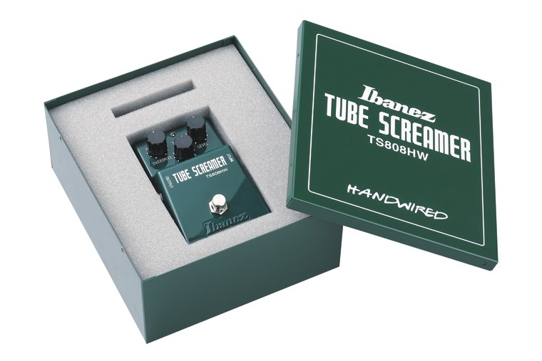 Ibanez TS808HW 9 Series Hand-Wired Tube Screamer Pro Pedal Hand Wired TS Overdrive Pro TS808HW