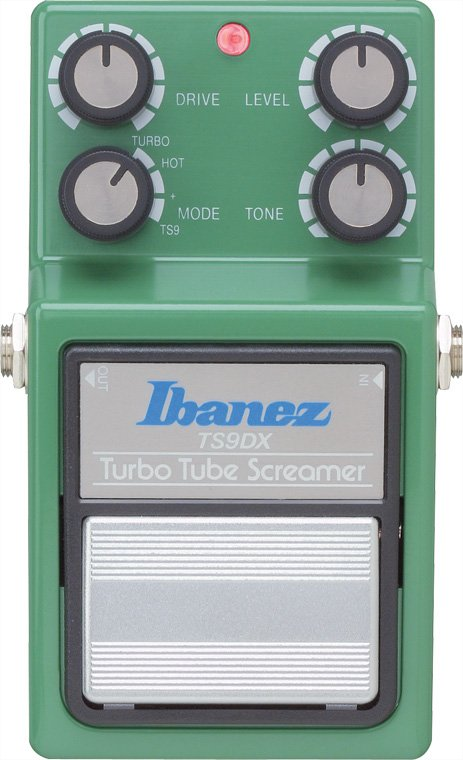 Ibanez TS9DX Turbo Tube Screamer Overdrive Pedal TS9DX