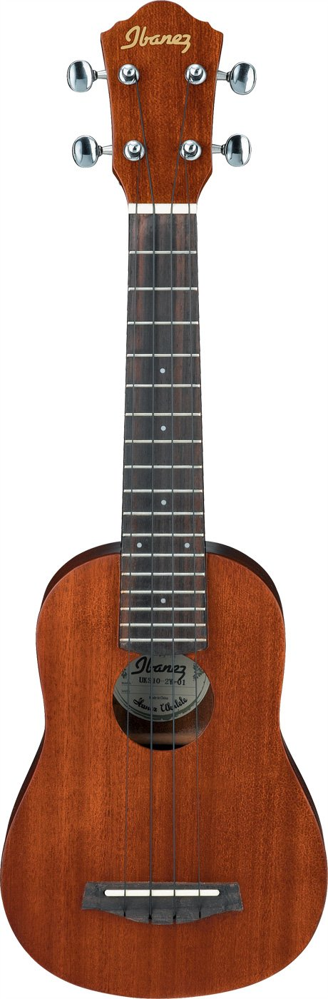 Natural Finish Soprano Ukulele with Gig Bag