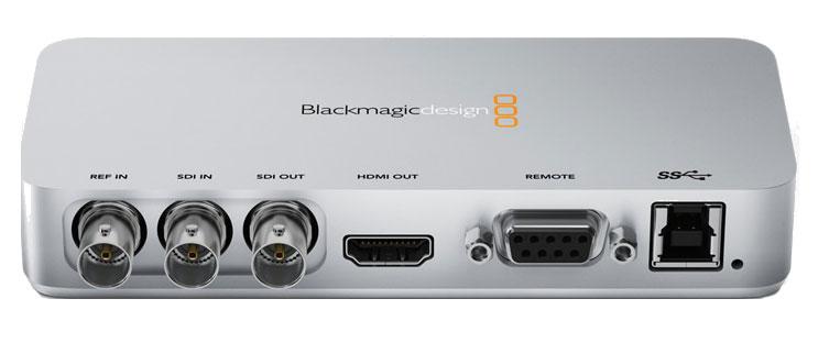 USB3.0 Video Capture/Playback Desktop Device in SDI/HD-SDI with HDMI Monitoring