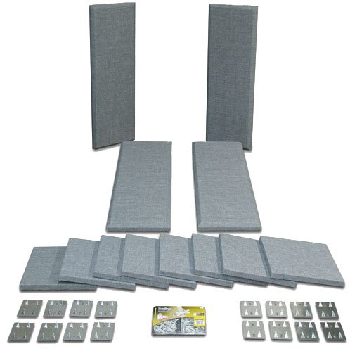 Broadway Acoustical Panels Room Kit with 4 Control Columns, 8 Scatter Blocks