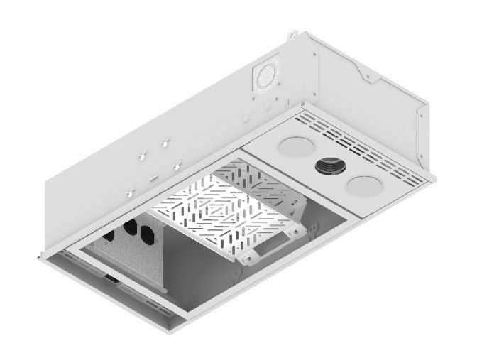 1'x2' Ceiling Box with 5 AC Outlets