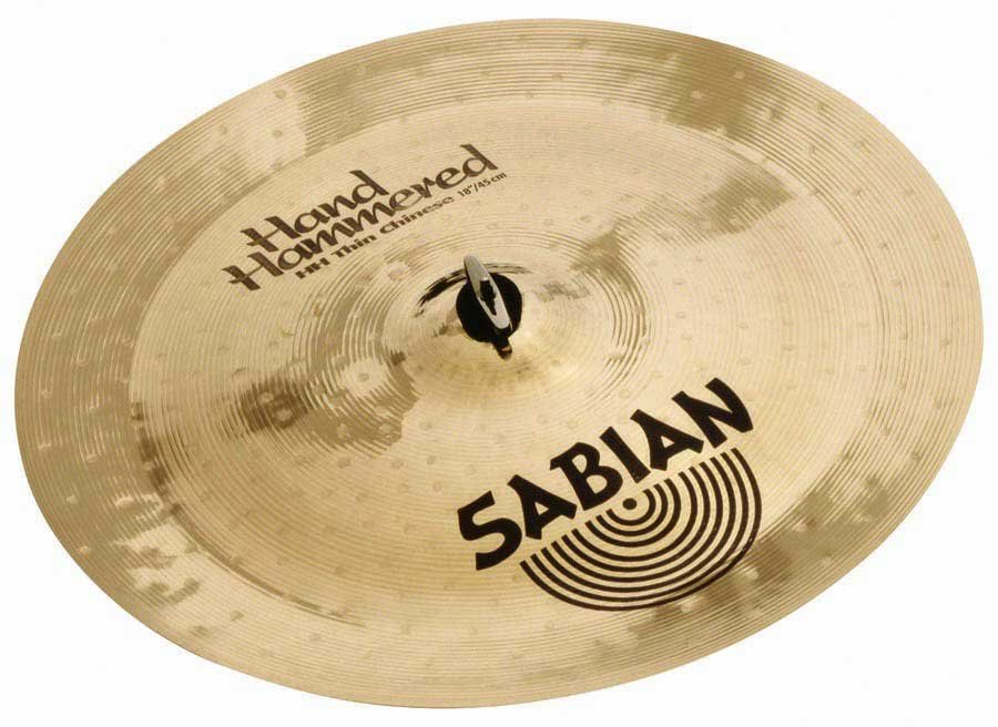 """20"""" HH Hand Hammered Thin Chinese Cymbal in Natural Finish"""